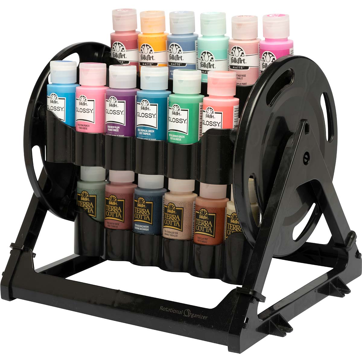 Plaid ® Rotational Organizer Paint Supply Storage Caddy- 31100