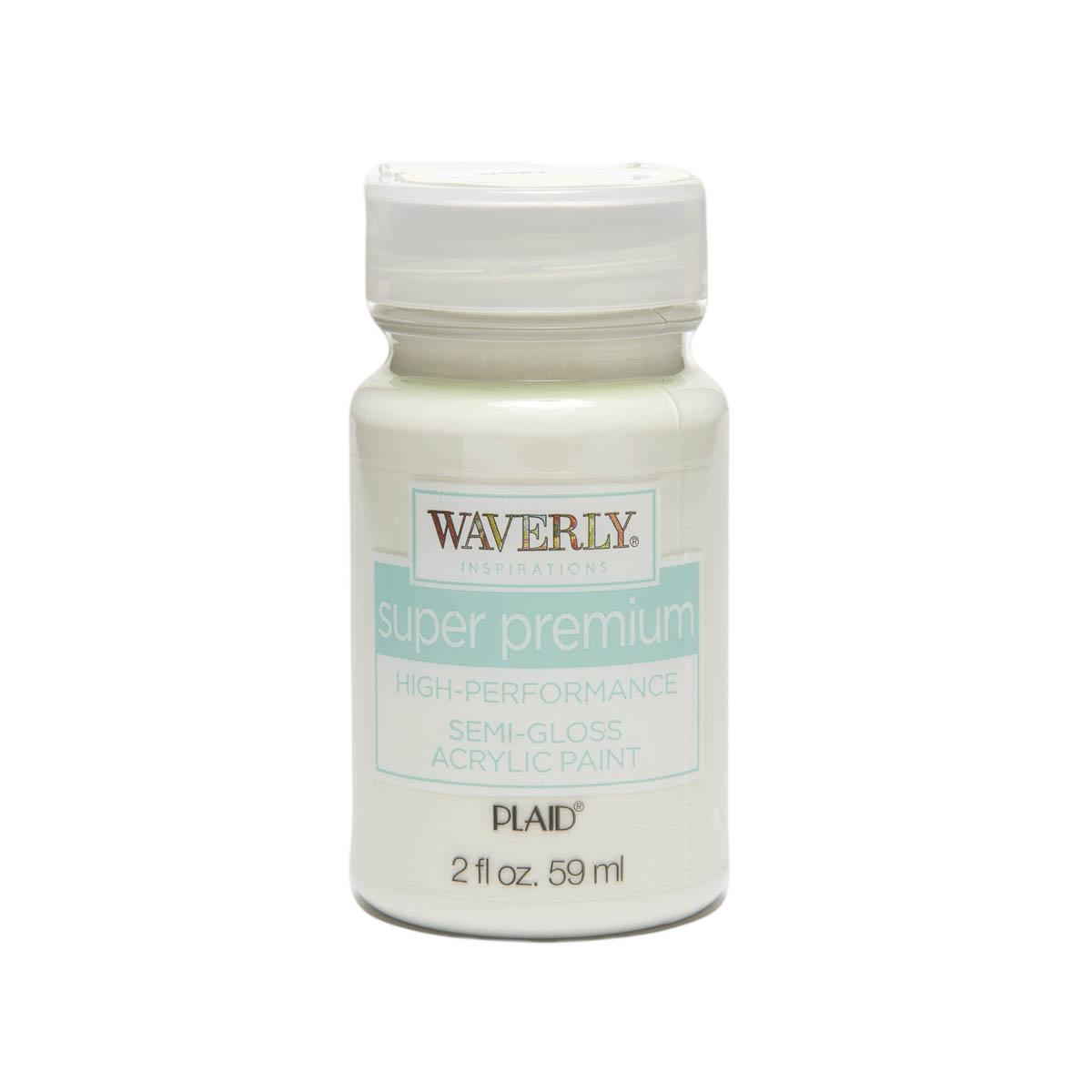 Waverly ® Inspirations Super Premium Semi-Gloss Acrylic Paint - Ivory, 2 oz.