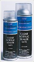 Plaid ® Patricia Nimocks™ Clear Acrylic Sealers - Matte, 12 oz. - CS200306