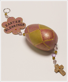 Easter Blessings Dangler