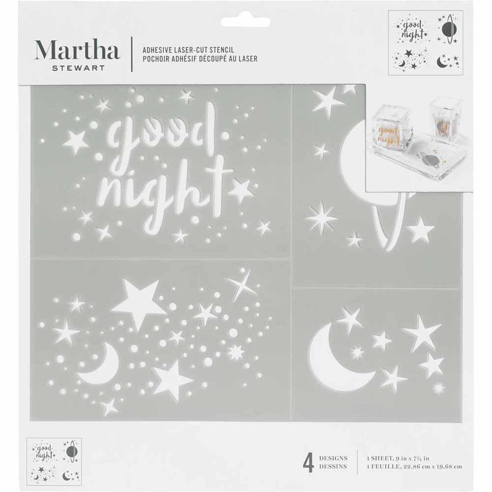Martha Stewart ® Adhesive Stencil - Constellation - 5695