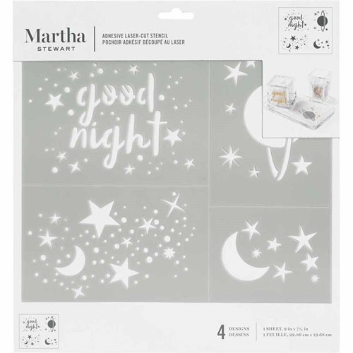 Martha Stewart ® Adhesive Stencil - Constellation - 5695
