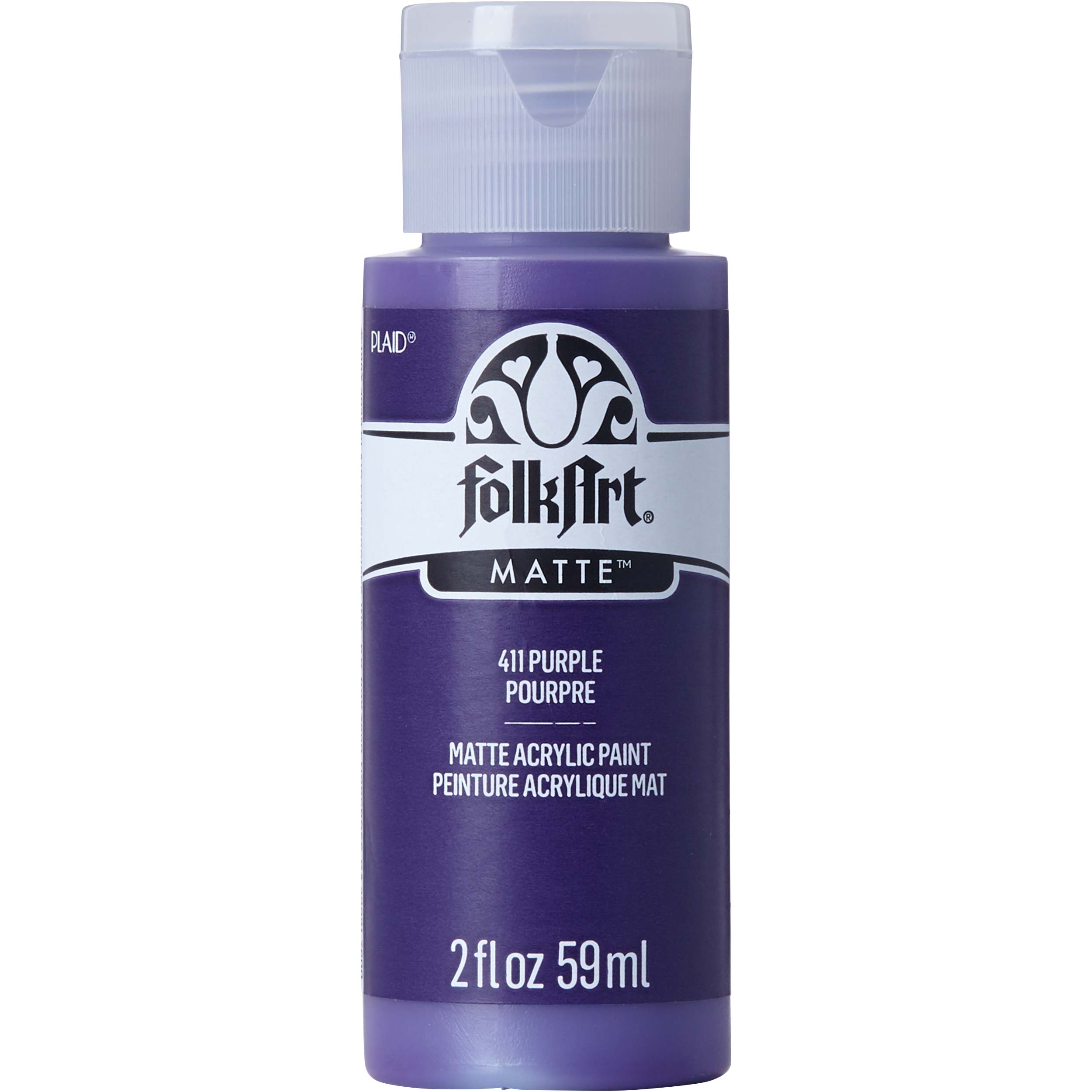 FolkArt ® Acrylic Colors - Purple, 2 oz. - 411