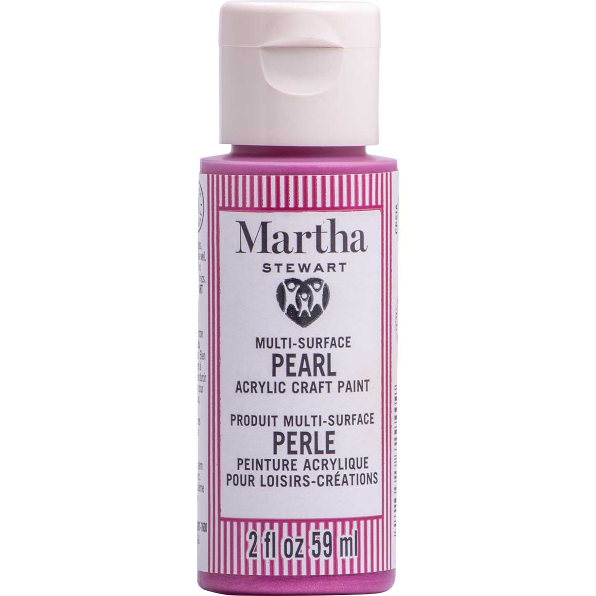 Martha Stewart ® Multi-Surface Pearl Acrylic Craft Paint CPSIA - Wisteria, 2 oz. - 72940