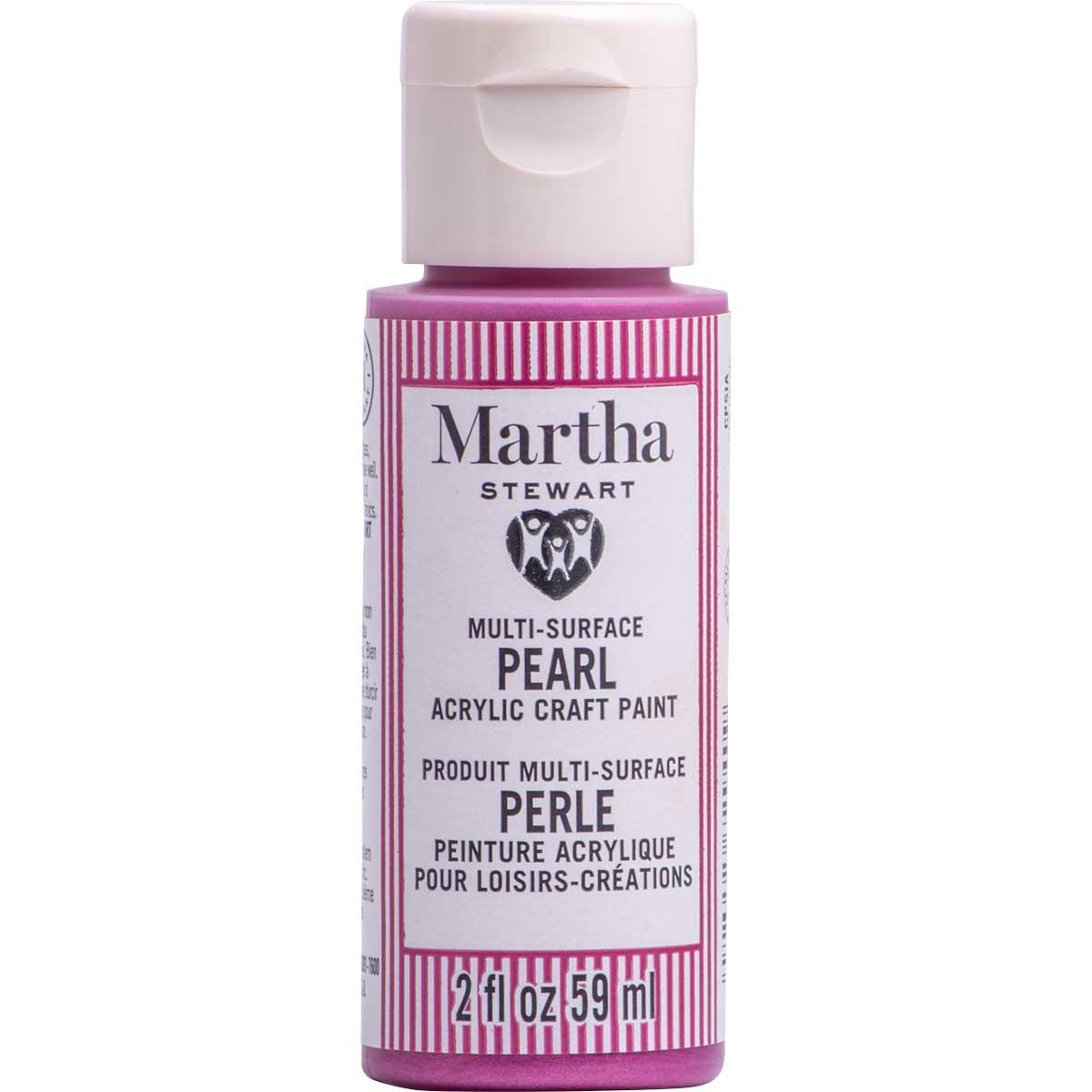 Martha Stewart® 2oz Multi-Surface Pearl Acrylic Craft Paint - Wisteria