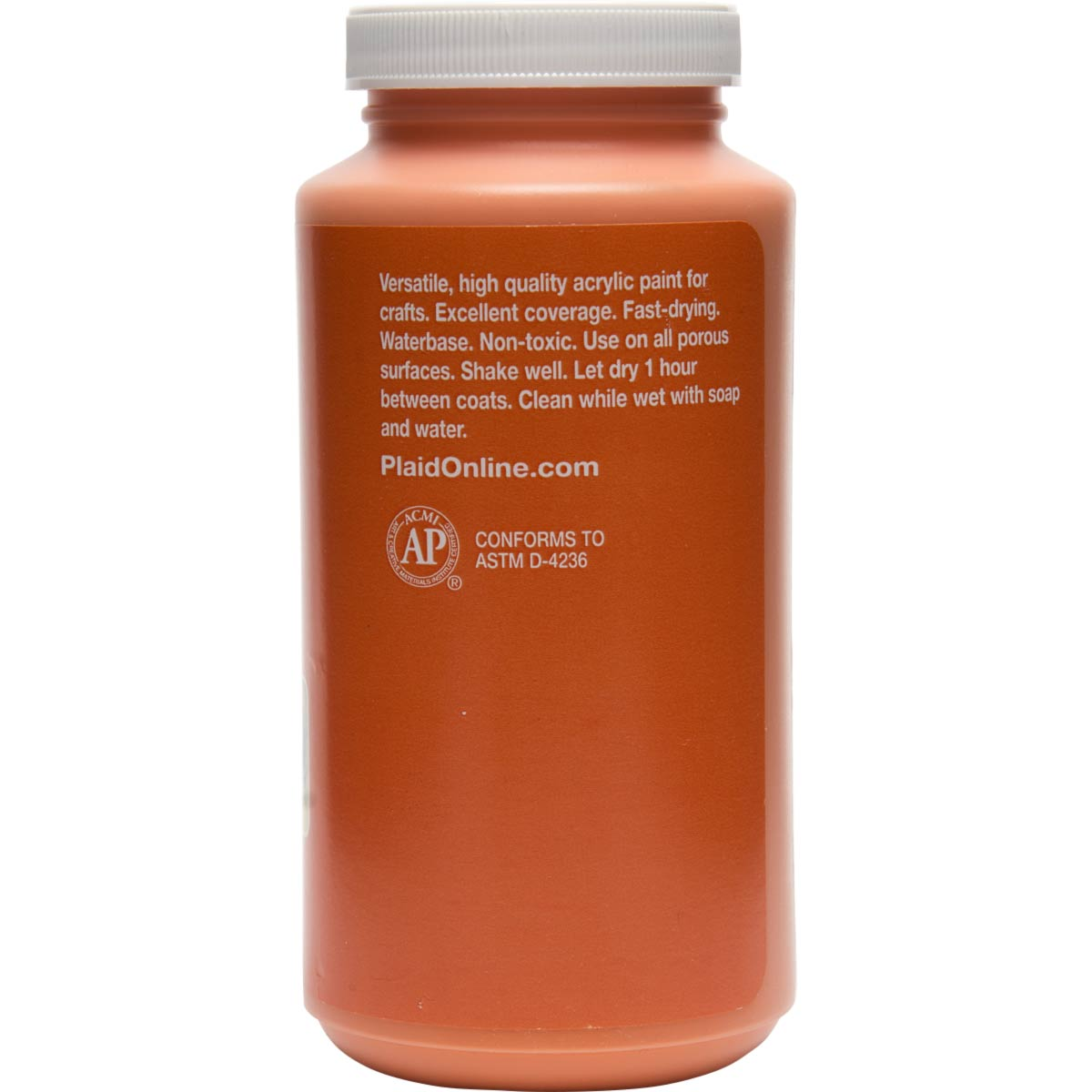 Apple Barrel ® Colors - Pumpkin Orange, 16 oz.