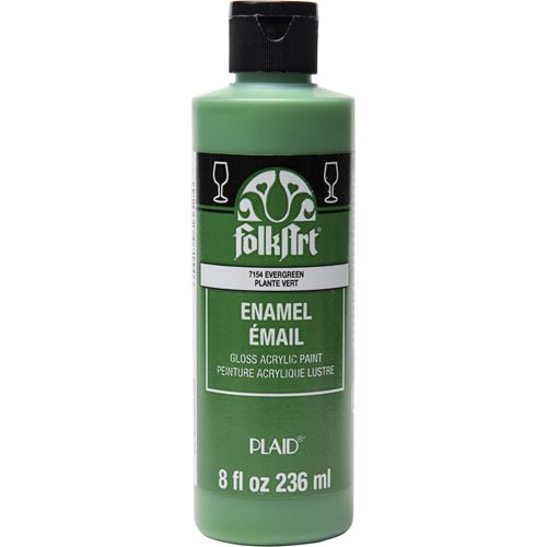 FolkArt ® Enamels™ - Evergreen, 8 oz. - 7154