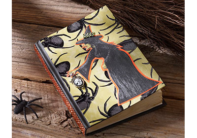 Halloween Spell Book with Mod Podge