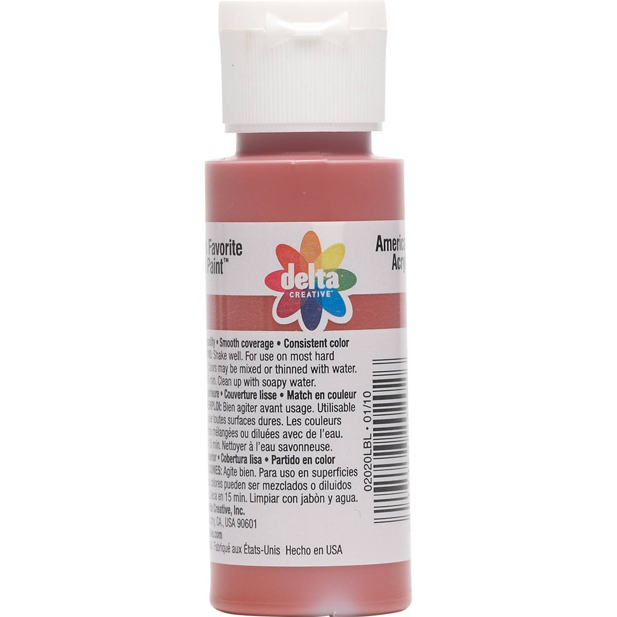 Delta Ceramcoat ® Acrylic Paint - Red Iron Oxide, 2 oz. - 020200202W
