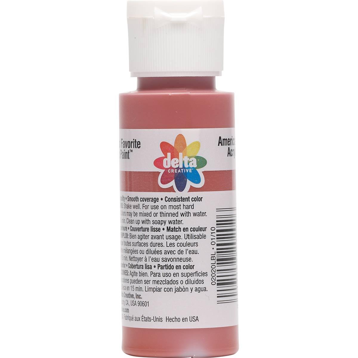 Delta Ceramcoat ® Acrylic Paint - Red Iron Oxide, 2 oz.