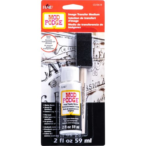 Mod Podge ® Image Transfer Medium Clear with Brush, 2 oz.