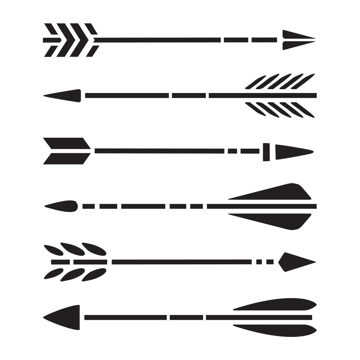 Delta Creative™ Stencil - Arrows - 960030006