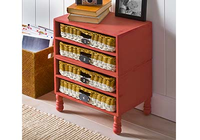 Wicker Drawer Organizer
