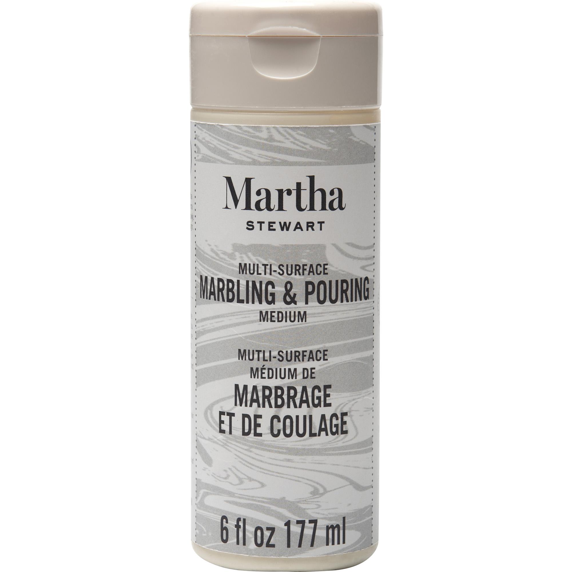 Martha Stewart ® Mediums - Marbling and Pouring Medium, 6 oz. - 18062