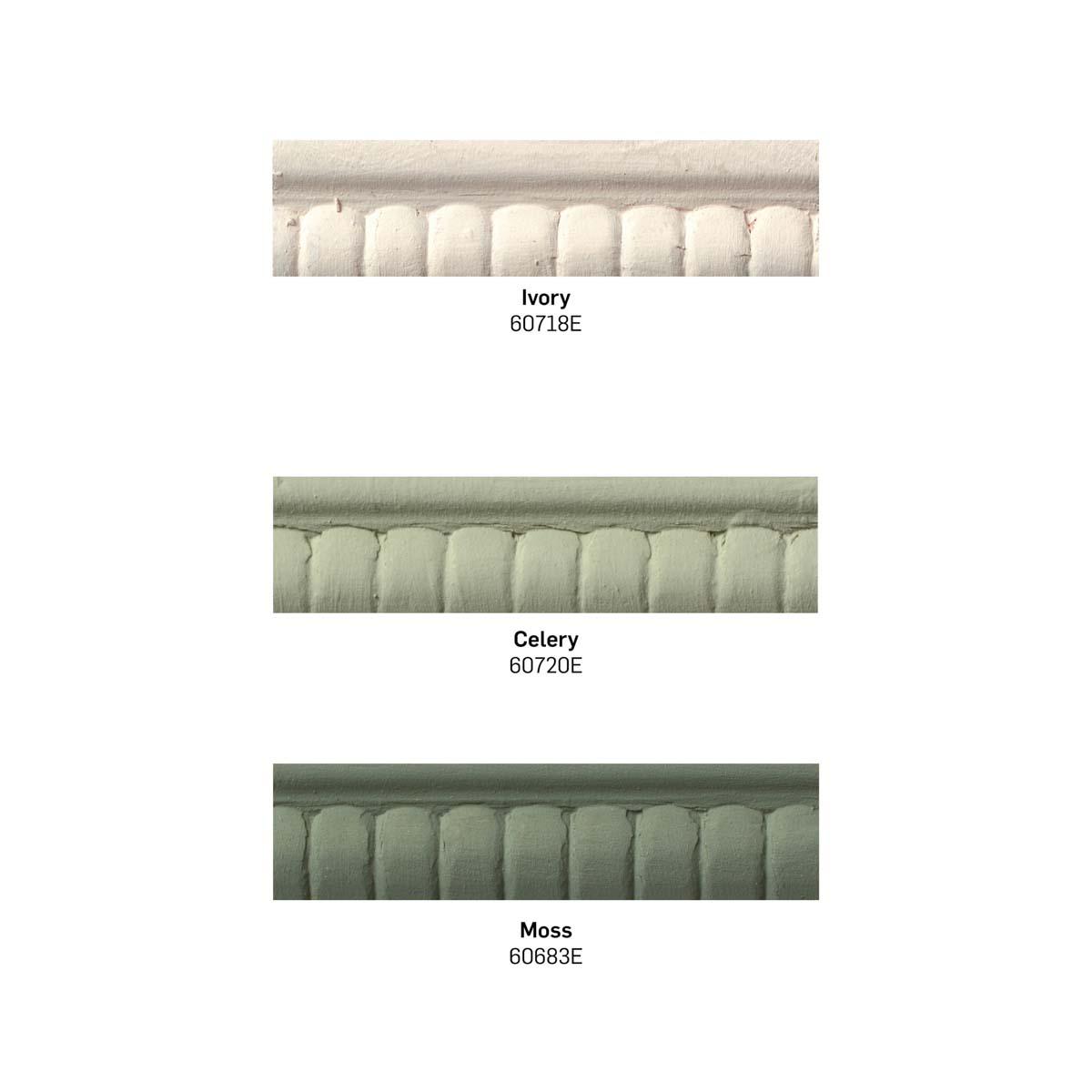Waverly ® Inspirations Chalk Finish Acrylic Paint Set - Greens, 3 pc. - 13408