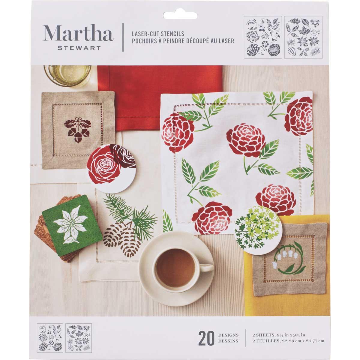 Martha Stewart® Four Seasons Laser-Cut Stencils