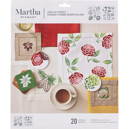 Martha Stewart® Four Seasons Laser-Cut Stencils