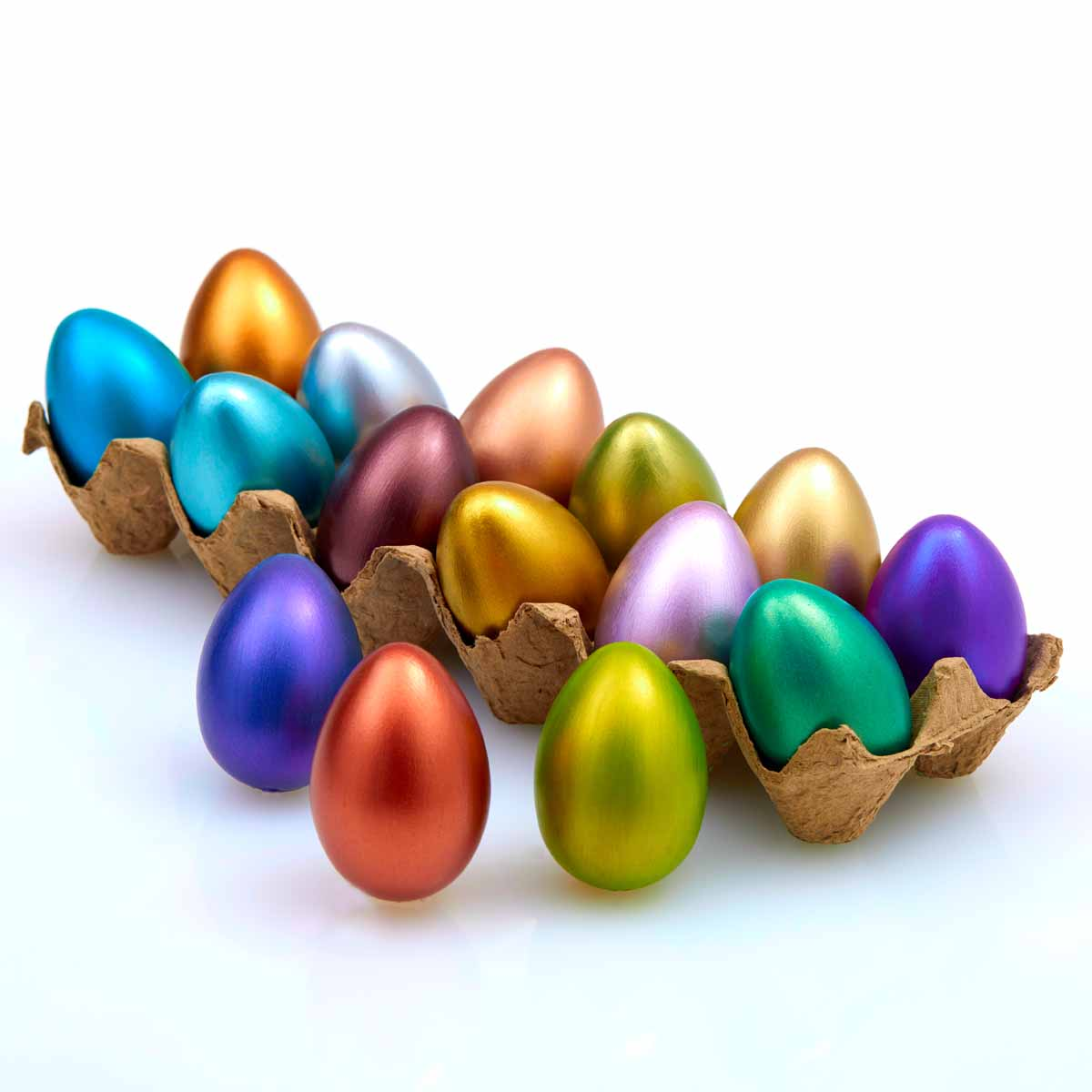 Jewel-Tone Easter Eggs