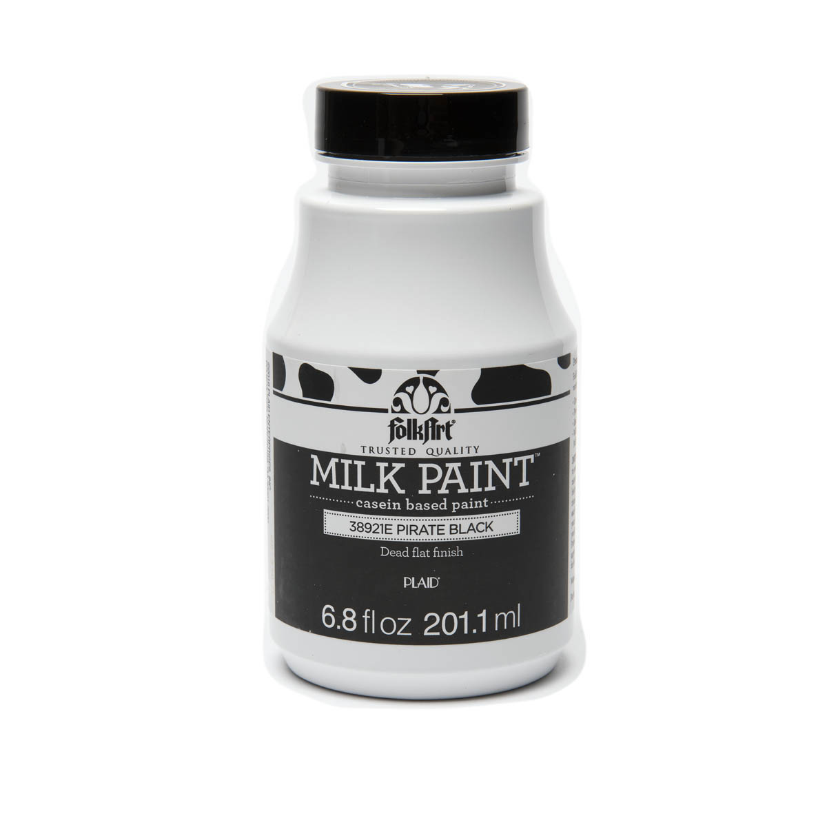 FolkArt ® Milk Paint™ - Pirate Black, 6.8 oz.