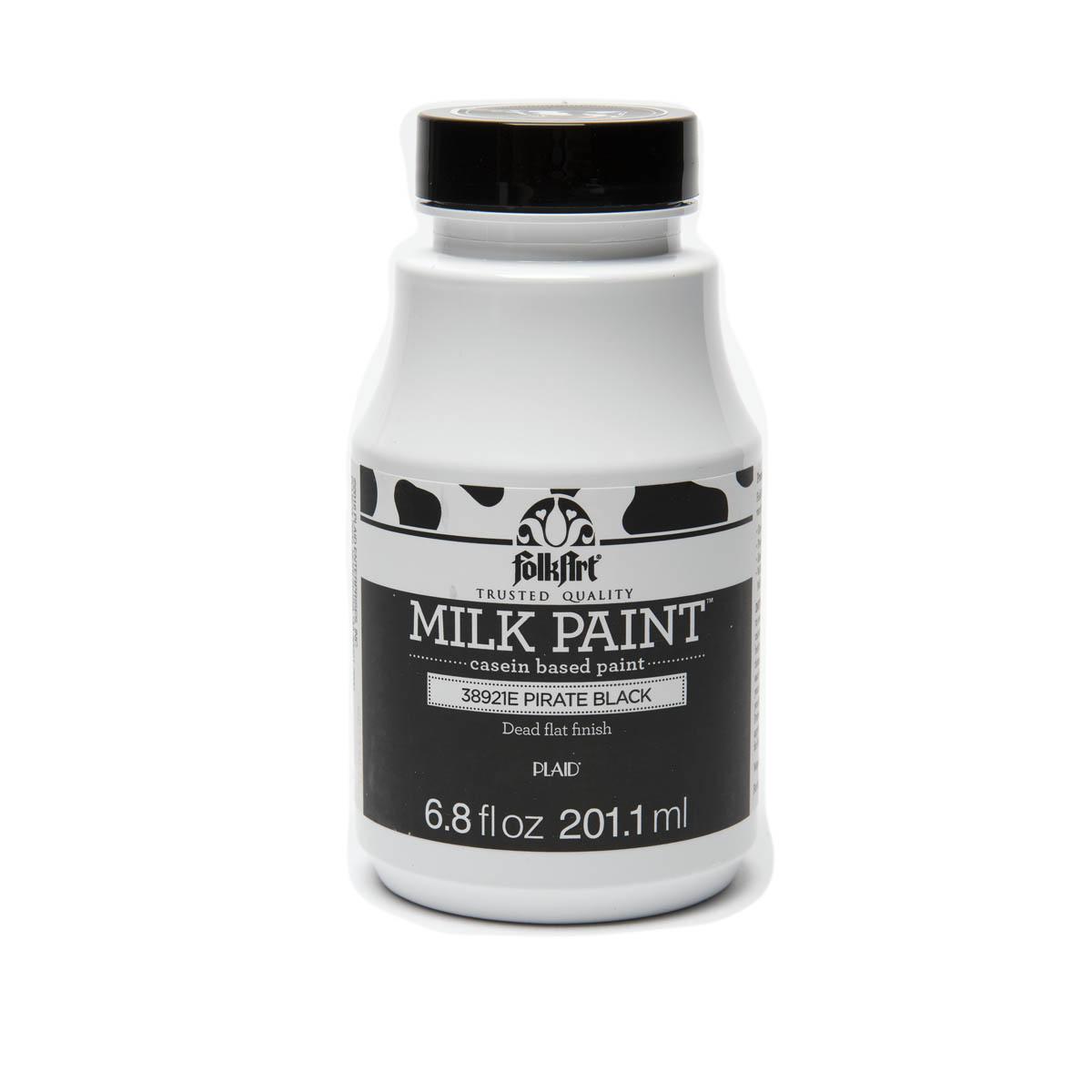 FolkArt ® Milk Paint™ - Pirate Black, 6.8 oz.