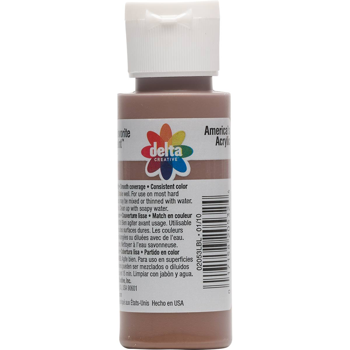 Delta Ceramcoat ® Acrylic Paint - Dark Brown, 2 oz.