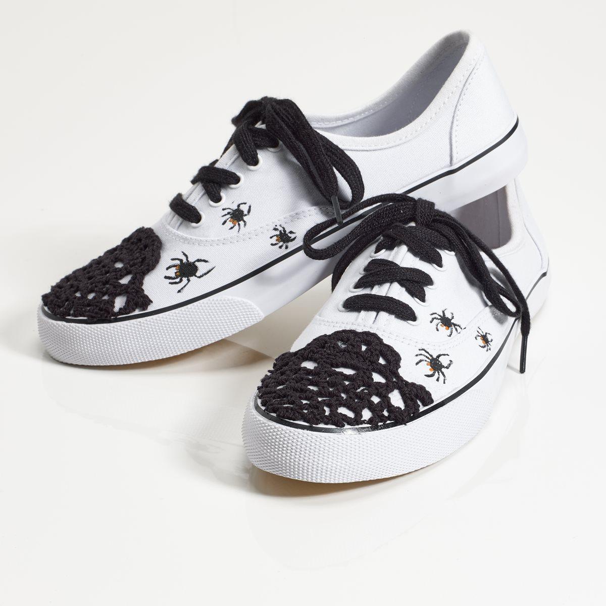 Spider Web Canvas Shoes