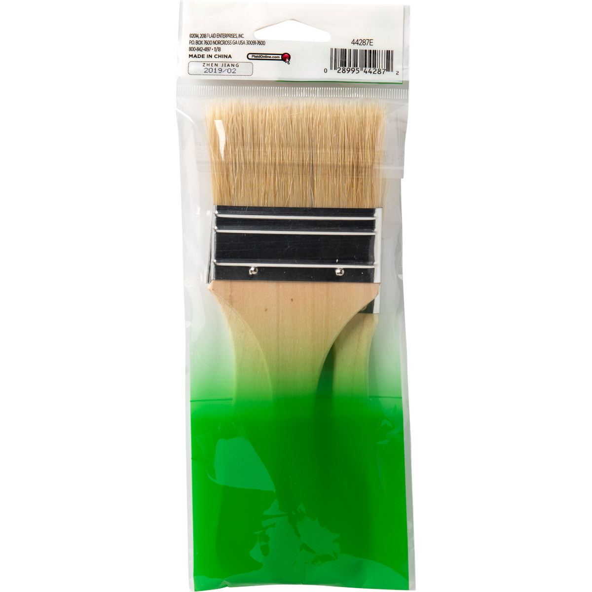 Plaid ® Brush Sets - Natural Bristle Chip Set - 44287