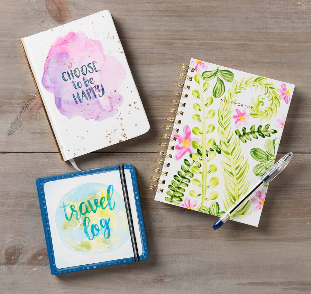 Watercolor Acrylic Paper Journals