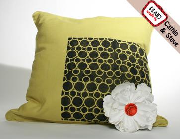 Modern Flower Pillow
