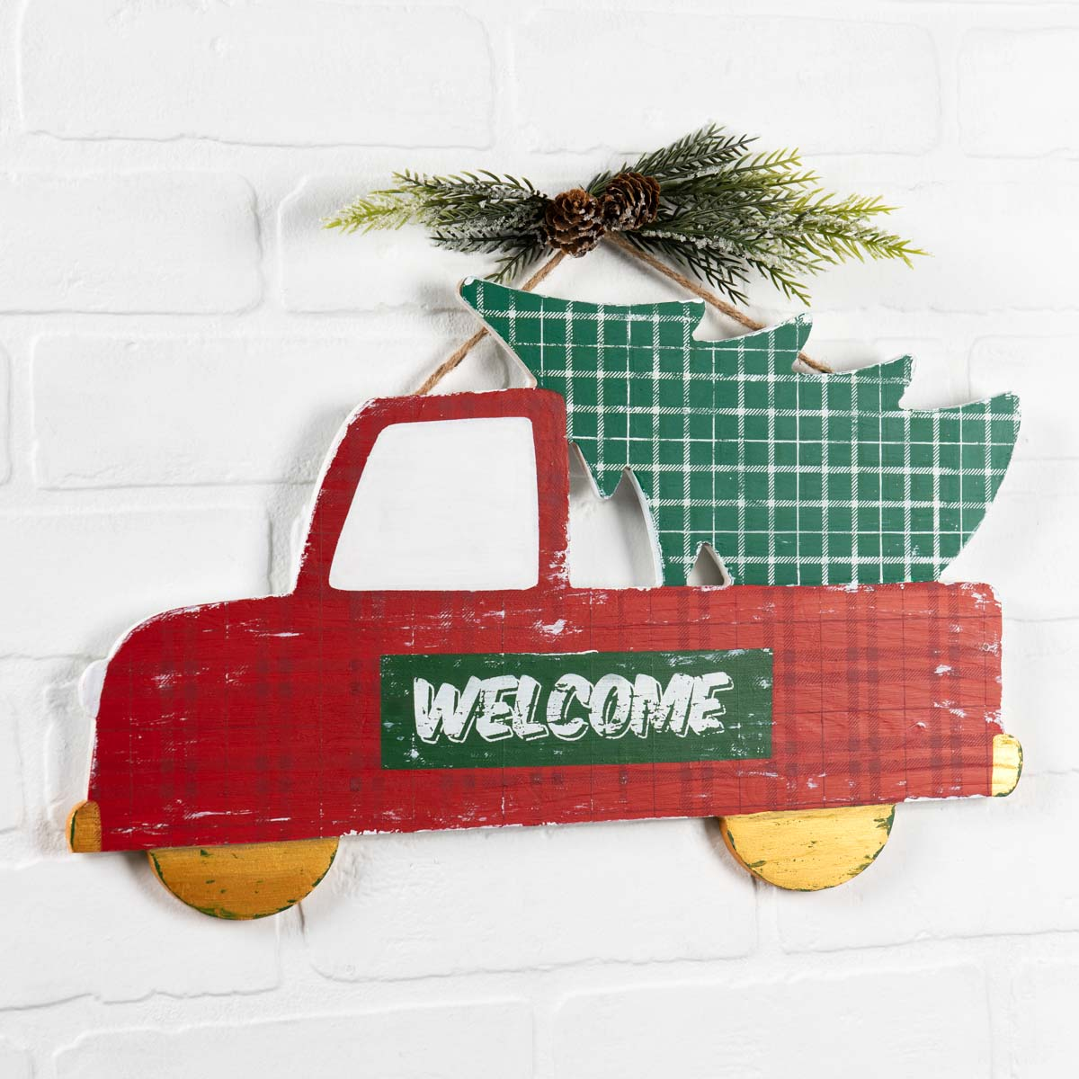 Holiday Truck Welcome Sign