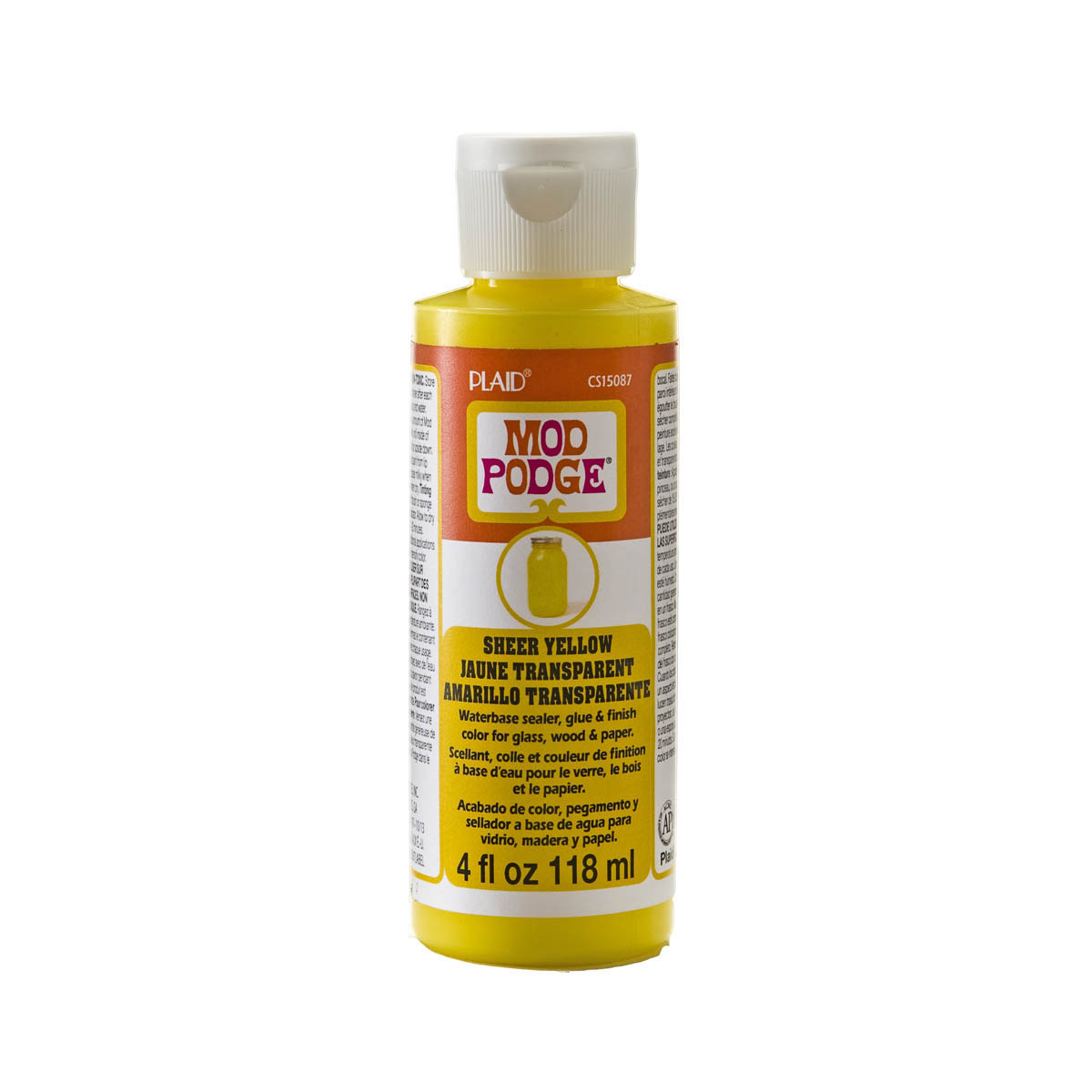 Mod Podge ® Sheer Color - Yellow, 4 oz.