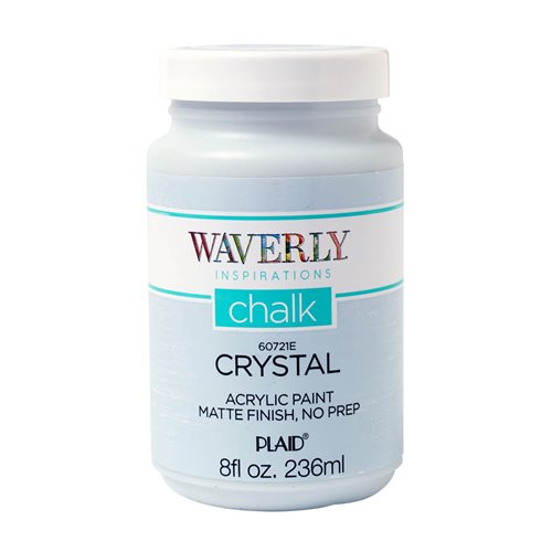 Waverly ® Inspirations Chalk Acrylic Paint - Crystal, 8 oz. - 60721E