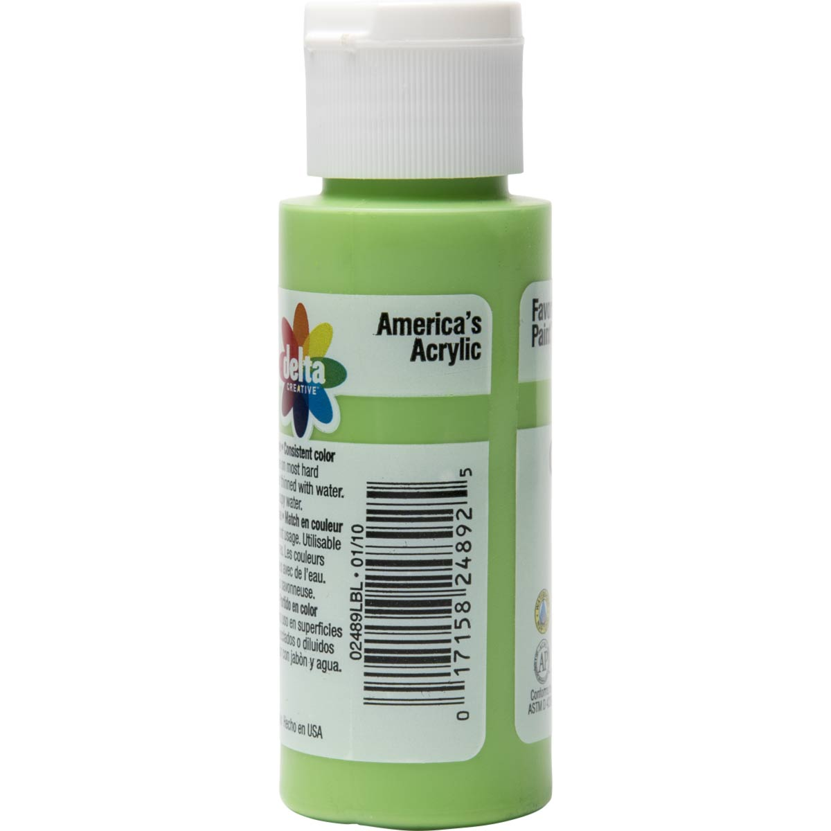 Delta Ceramcoat ® Acrylic Paint - Lime Green, 2 oz.