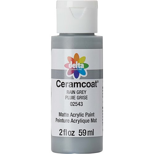 Delta Ceramcoat ® Acrylic Paint - Rain Grey, 2 oz. - 025430202W
