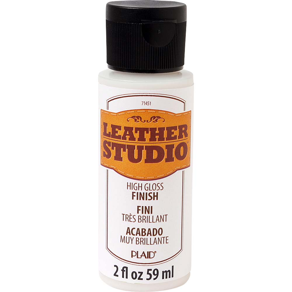 Leather Studio™ Paint Finish - High Gloss, 2 oz.