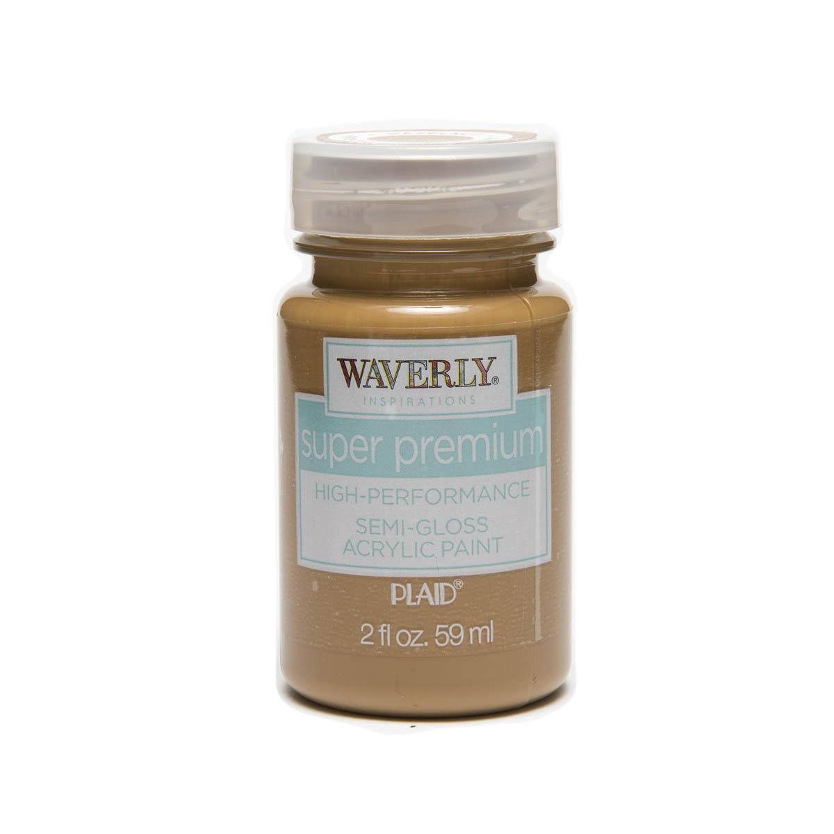 Waverly ® Inspirations Super Premium Semi-Gloss Acrylic Paint - Hazelnut, 2 oz. - 60652E