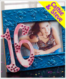 Sweet Sixteen Party Frame