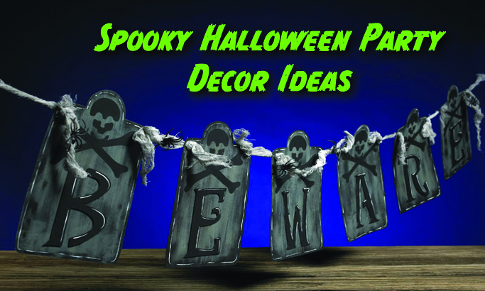 Spooky Halloween Party Decor Ideas