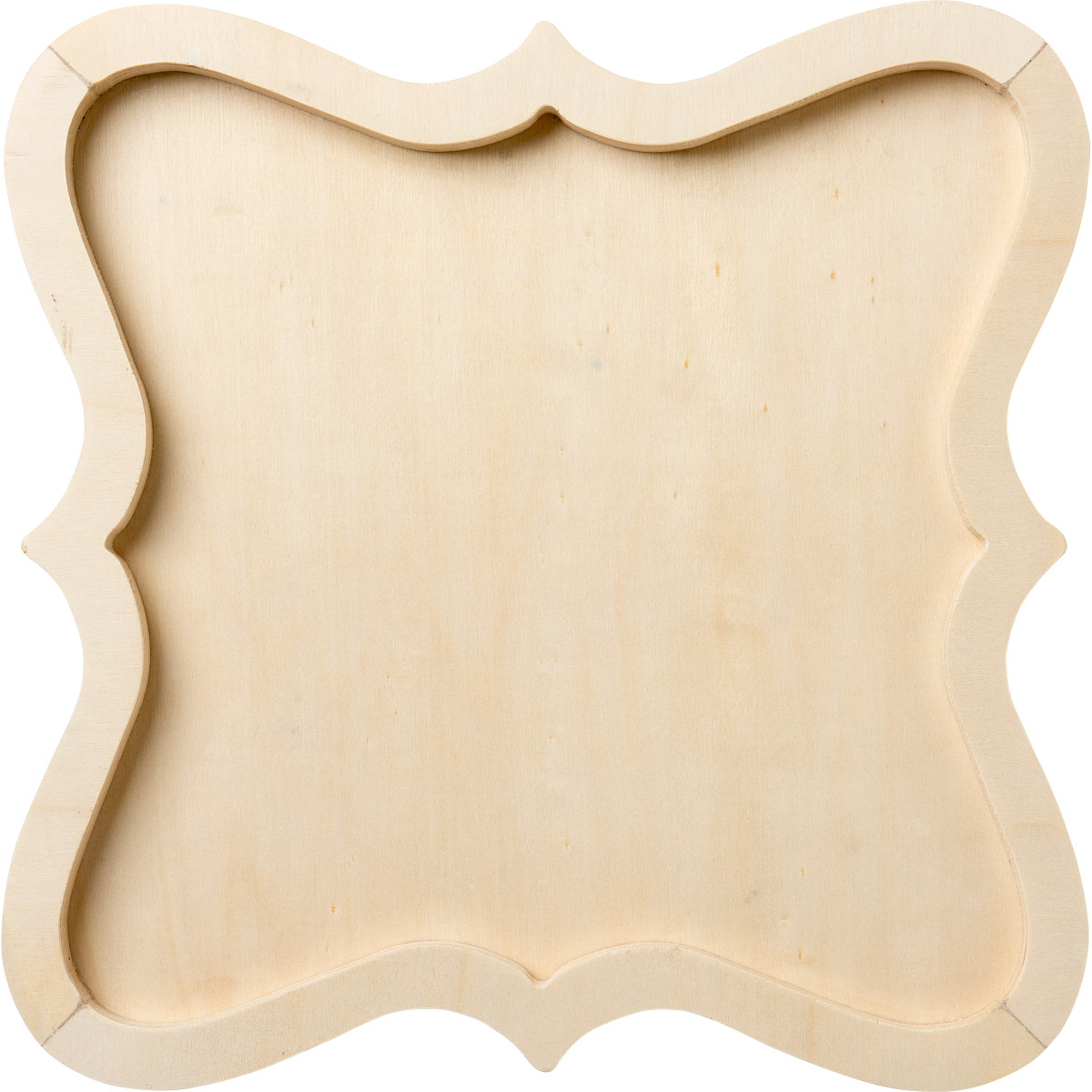 Plaid ® Wood Surfaces - Plaques - Scalloped Panel, 12