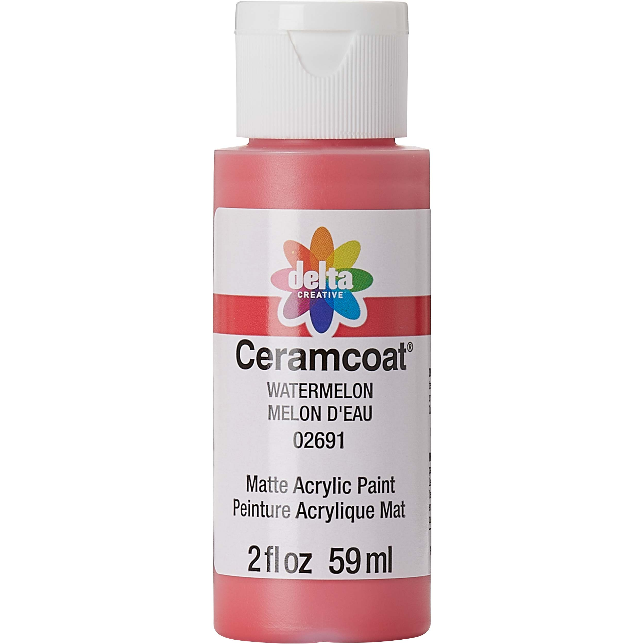 Delta Ceramcoat ® Acrylic Paint - Watermelon, 2 oz.