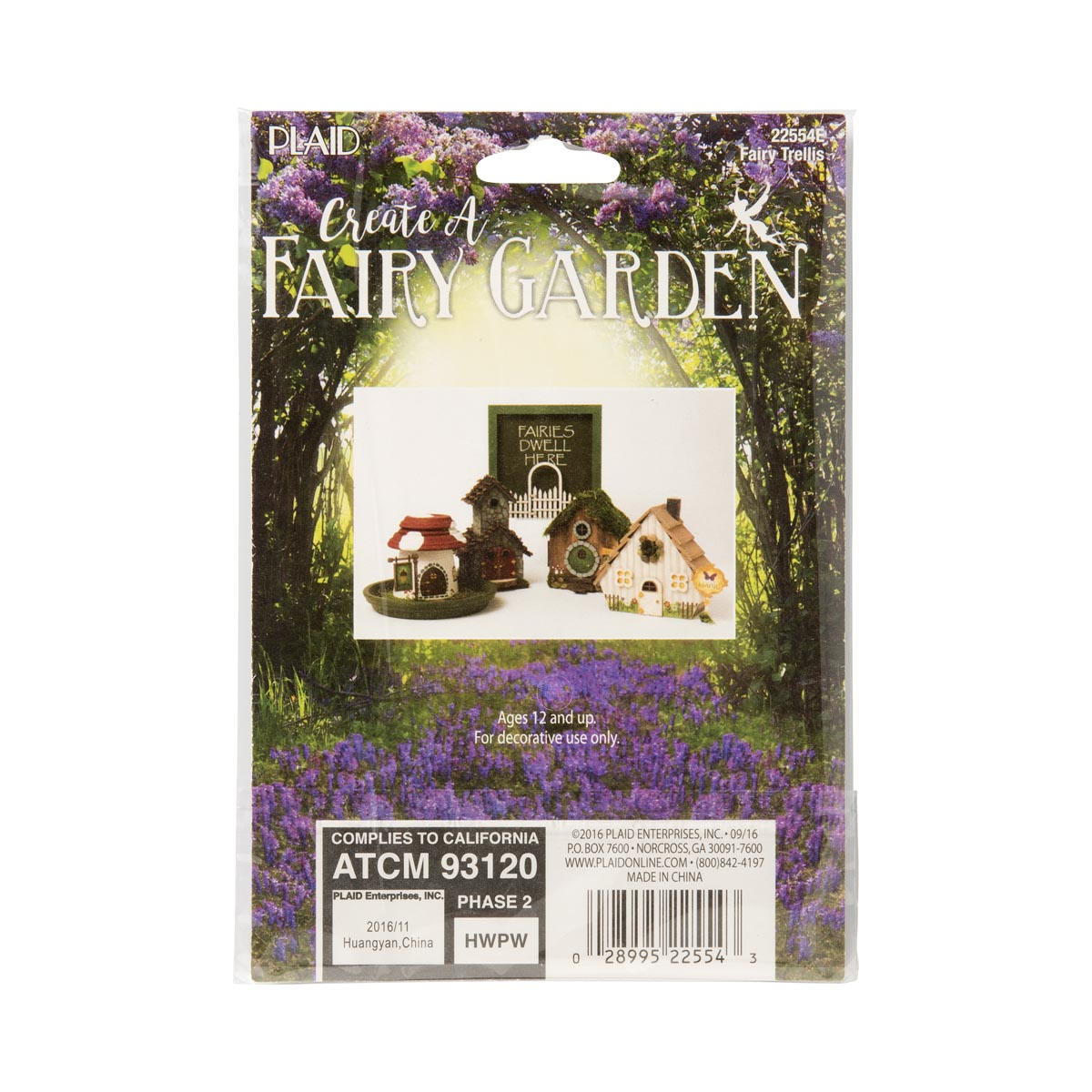 Plaid ® Wood Surfaces - Fairy Garden - Trellis