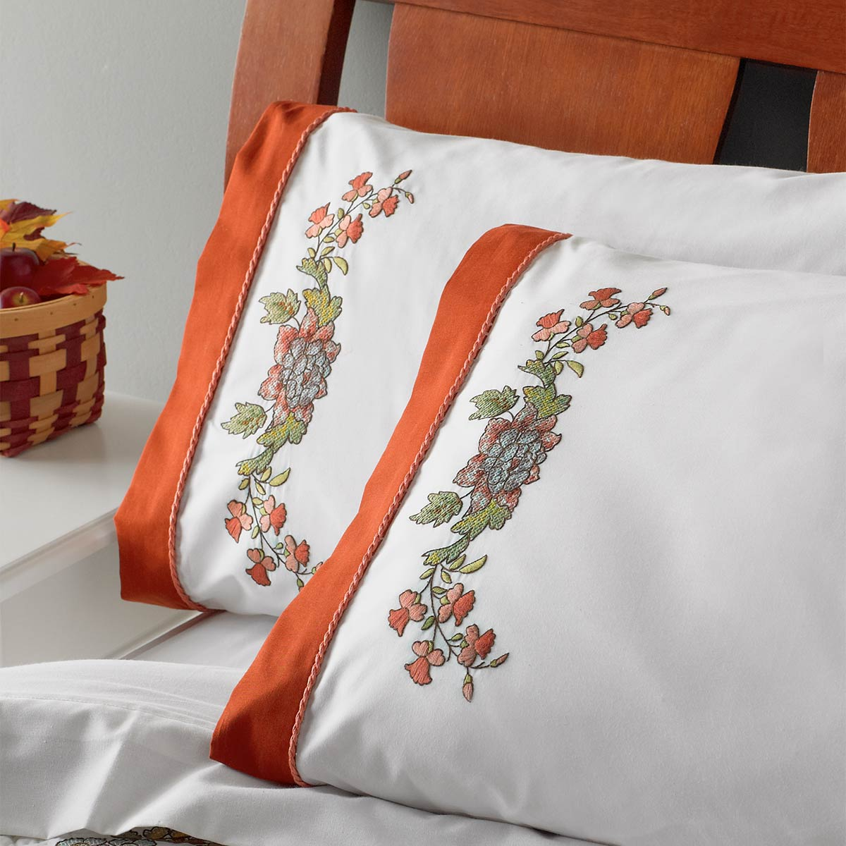 Bucilla ® Waverly ® Charleston Chirp Collection Stamped Pillowcase Pair