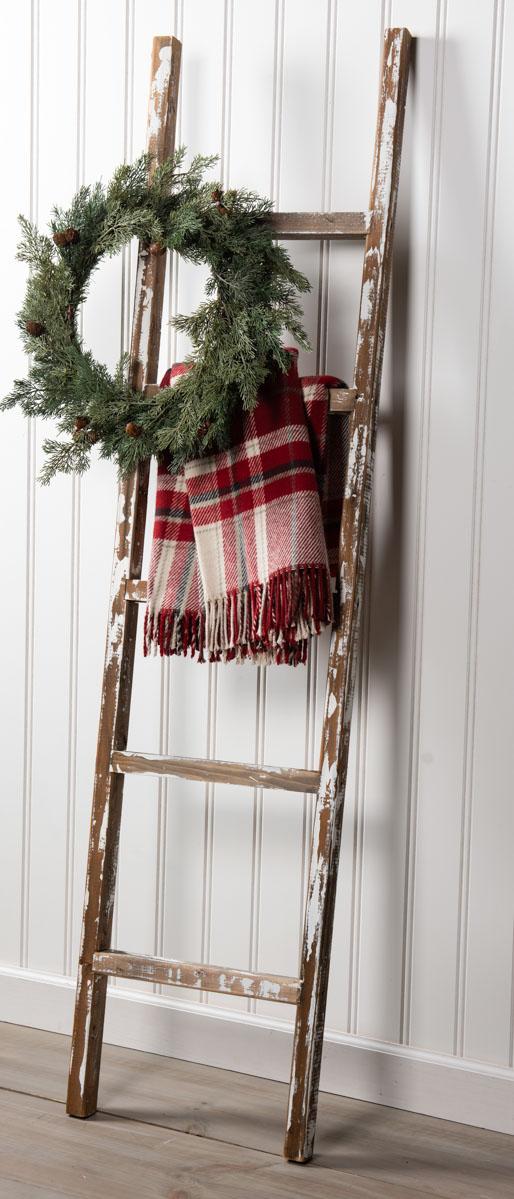 Rustic Decor DIY - Vintage Ladder Redo