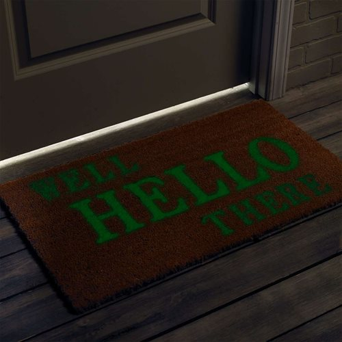 Glow-in-the-Dark Welcome Mat