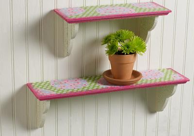Spring Shelf Set
