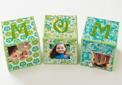 Mother's Day Photo Blocks