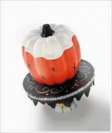 Glazed Pumpkin with Stand