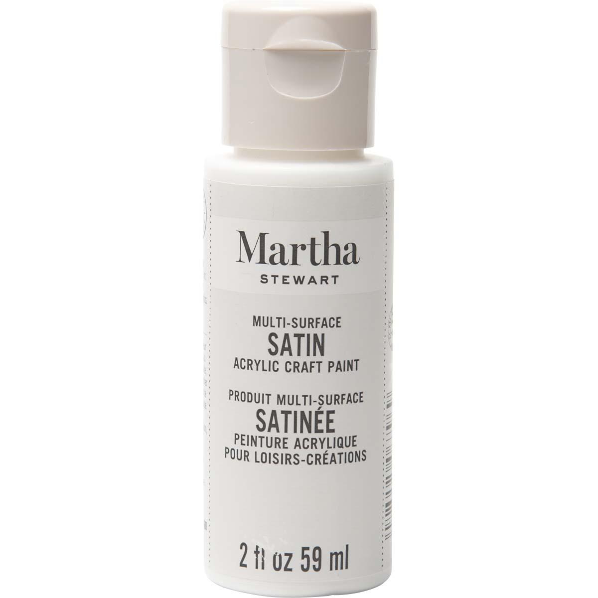 Martha Stewart ® Multi-Surface Satin Acrylic Craft Paint - Wedding Cake, 2 oz. - 32076CA