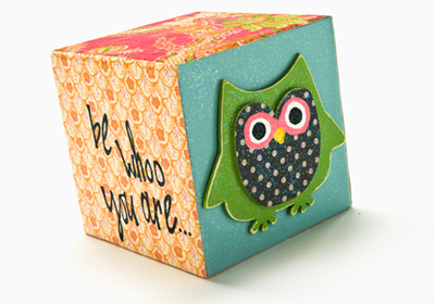 Be WHOO you are wood block