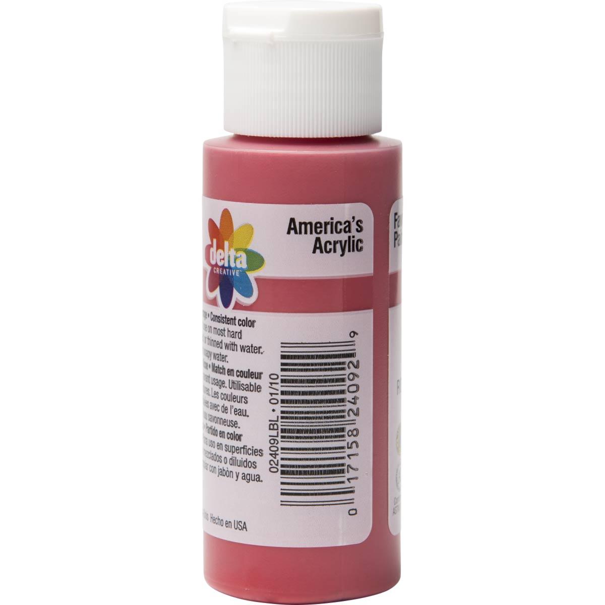 Delta Ceramcoat ® Acrylic Paint - Napthol Red Light, 2 oz. - 024090202W